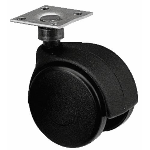 roulettes de meuble twiny avec chape en plastique noir roulettes de meuble pieds et roulettes. Black Bedroom Furniture Sets. Home Design Ideas