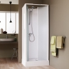 Cabine de douche SURF 4 carre portes battantes