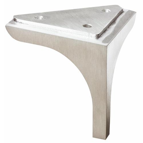 Pieds de meuble aluminium mele charge 150 kg hettich - Pied reglable pour meuble ...